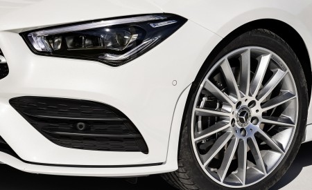 2020 Mercedes-Benz CLA Shooting Brake AMG-Line (Color: Digital White) Wheel Wallpapers 450x275 (80)