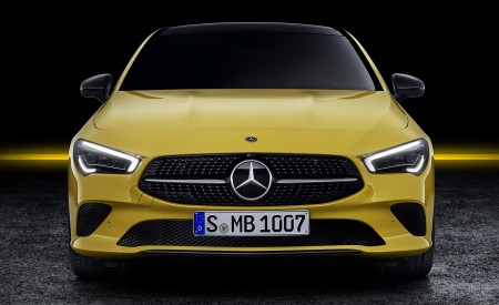 2020 Mercedes-Benz CLA Shooting Brake (Color: Sun Yellow) Front Wallpapers 450x275 (86)