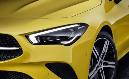 2020 Mercedes-Benz CLA Shooting Brake (Color: Sun Yellow) Headlight Wallpapers 450x275 (91)