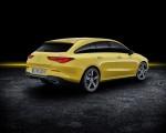 2020 Mercedes-Benz CLA Shooting Brake (Color: Sun Yellow) Rear Three-Quarter Wallpapers 150x120 (29)