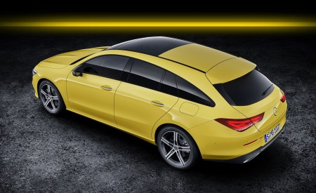 2020 Mercedes-Benz CLA Shooting Brake (Color: Sun Yellow) Rear Three-Quarter Wallpapers 450x275 (88)