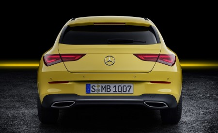 2020 Mercedes-Benz CLA Shooting Brake (Color: Sun Yellow) Rear Wallpapers 450x275 (89)