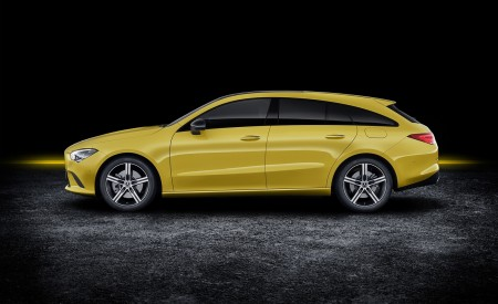 2020 Mercedes-Benz CLA Shooting Brake (Color: Sun Yellow) Side Wallpapers 450x275 (90)