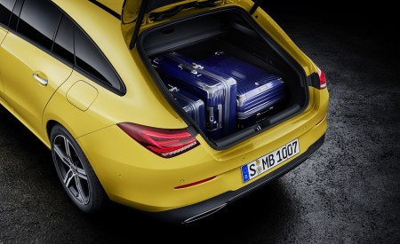 2020 Mercedes-Benz CLA Shooting Brake (Color: Sun Yellow) Trunk Wallpapers 450x275 (93)