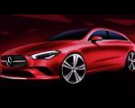 2020 Mercedes-Benz CLA Shooting Brake Design Sketch Wallpapers 150x120 (42)
