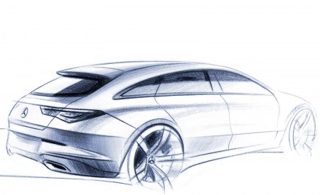 2020 Mercedes-Benz CLA Shooting Brake Design Sketch Wallpapers 450x275 (104)