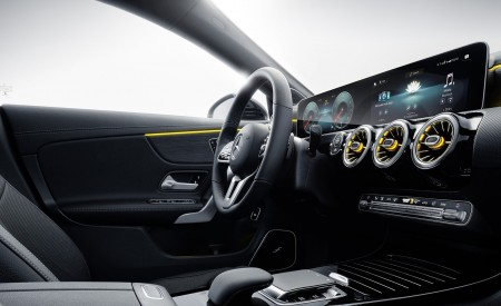 2020 Mercedes-Benz CLA Shooting Brake Interior Cockpit Wallpapers 450x275 (97)