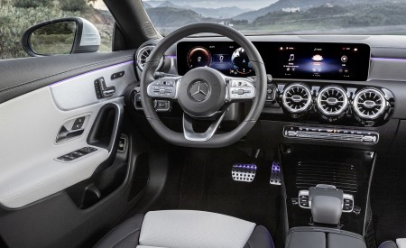 2020 Mercedes-Benz CLA Shooting Brake Interior Cockpit Wallpapers 450x275 (82)