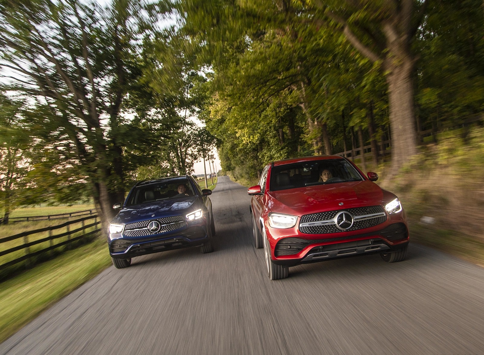 2020 Mercedes-Benz GLC 300 Coupe (US-Spec) Front Wallpapers (2)