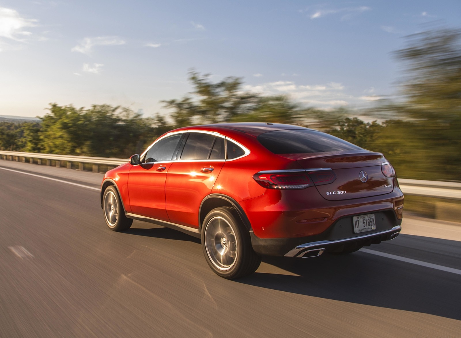 2020 Mercedes-Benz GLC 300 Coupe (US-Spec) Rear Three-Quarter Wallpapers (10)