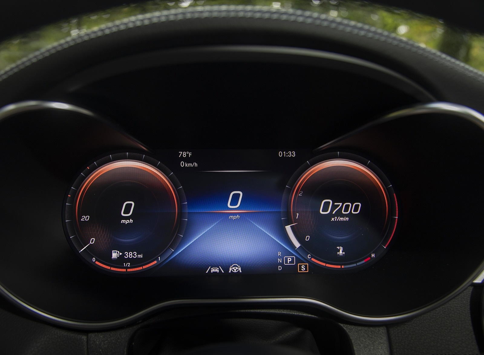 2020 Mercedes-Benz GLC 300 (US-Spec) Digital Instrument Cluster Wallpapers #36 of 62