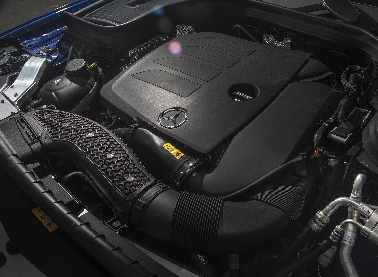 2020 Mercedes-Benz GLC 300 (US-Spec) Engine Wallpapers #16 of 62
