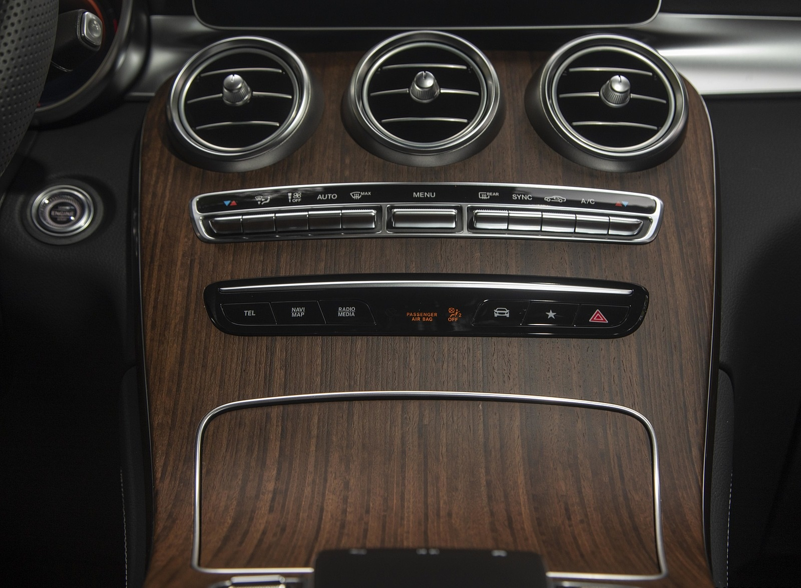 2020 Mercedes-Benz GLC 300 (US-Spec) Interior Detail Wallpapers #29 of 62