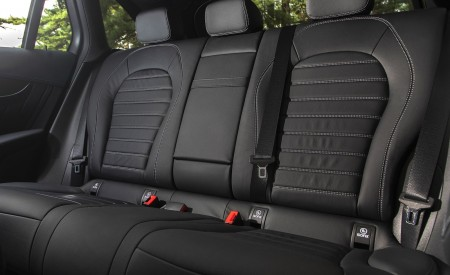 2020 Mercedes-Benz GLC 300 (US-Spec) Interior Rear Seats Wallpapers 450x275 (23)