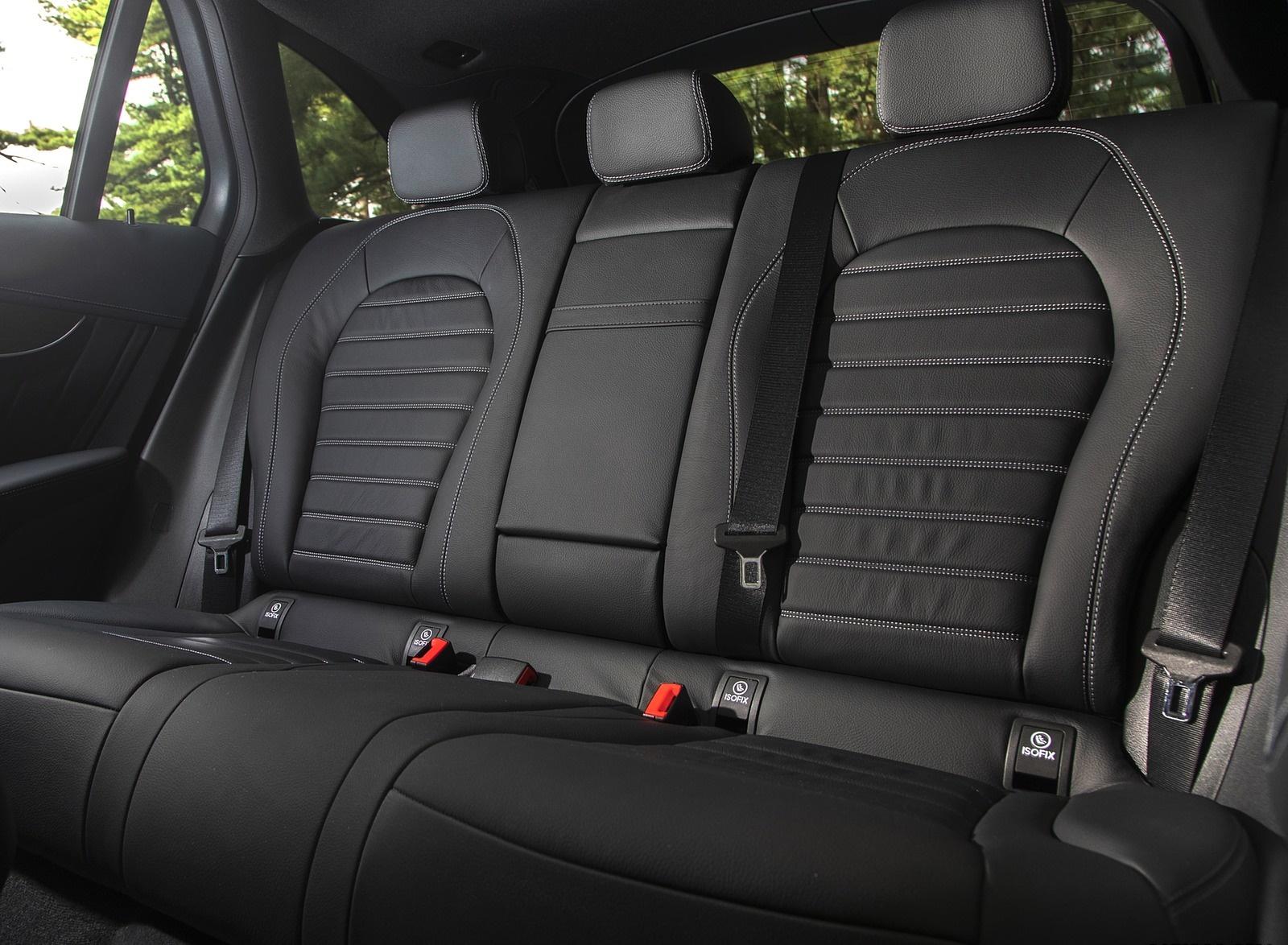 2020 Mercedes-Benz GLC 300 (US-Spec) Interior Rear Seats Wallpapers #23 of 62