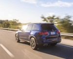 2020 Mercedes-Benz GLC 300 (US-Spec) Rear Three-Quarter Wallpapers 150x120