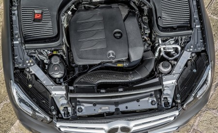 2020 Mercedes-Benz GLC (Color: Designo Selenite Grey Magno) Engine Wallpapers 450x275 (60)
