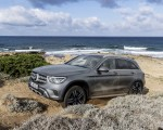 2020 Mercedes-Benz GLC (Color: Designo Selenite Grey Magno) Front Three-Quarter Wallpapers 150x120