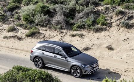 2020 Mercedes-Benz GLC (Color: Designo Selenite Grey Magno) Front Three-Quarter Wallpapers 450x275 (51)