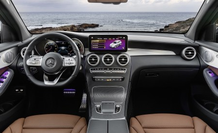 2020 Mercedes-Benz GLC (Color: Designo Selenite Grey Magno) Interior Cockpit Wallpapers 450x275 (61)