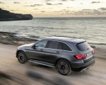 2020 Mercedes-Benz GLC (Color: Designo Selenite Grey Magno) Rear Three-Quarter Wallpapers 150x120