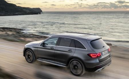 2020 Mercedes-Benz GLC (Color: Designo Selenite Grey Magno) Rear Three-Quarter Wallpapers 450x275 (41)