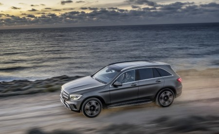 2020 Mercedes-Benz GLC (Color: Designo Selenite Grey Magno) Side Wallpapers 450x275 (46)