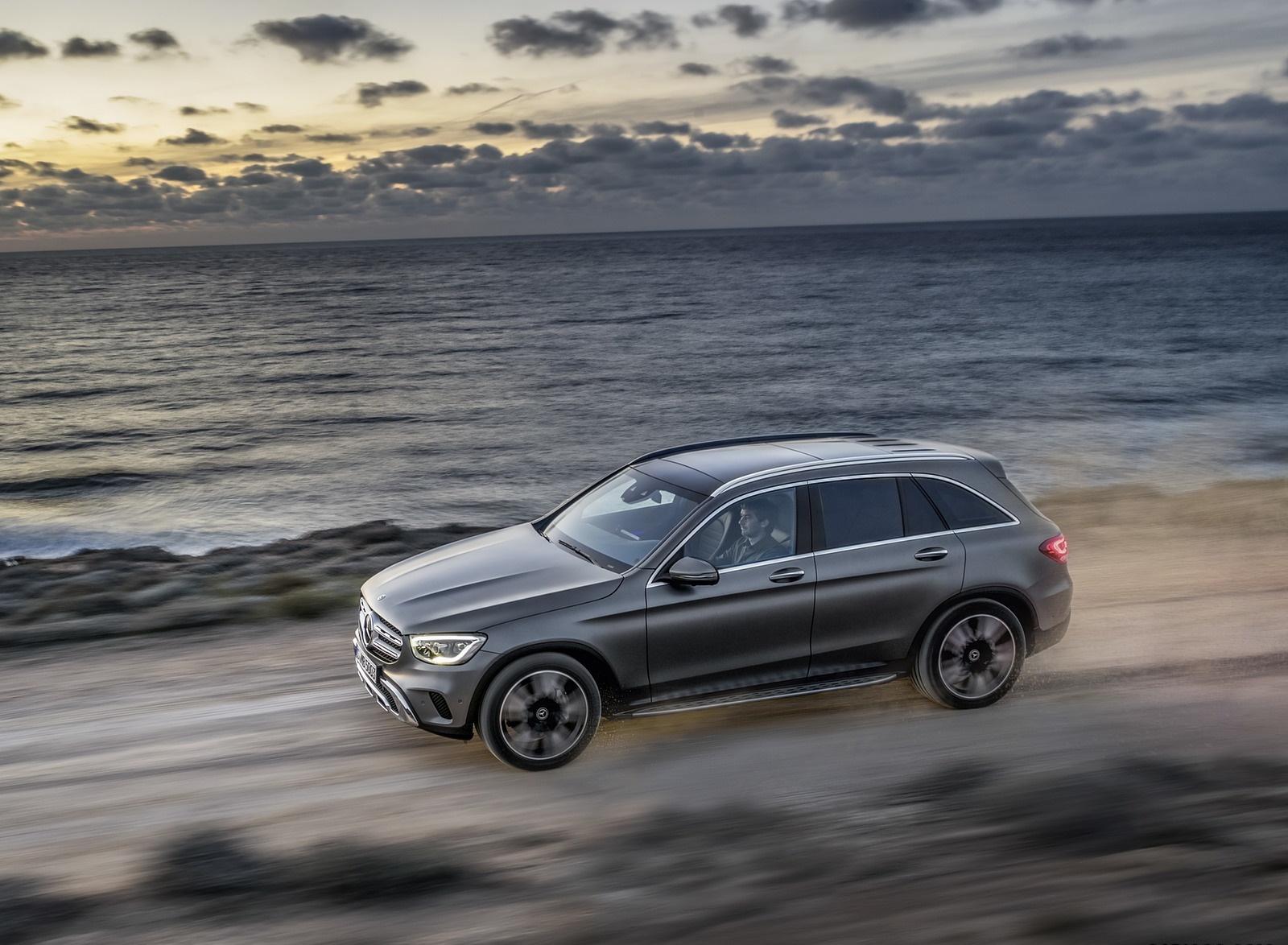 2020 Mercedes-Benz GLC (Color: Designo Selenite Grey Magno) Side Wallpaper (10)