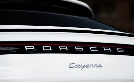 2020 Porsche Cayenne Coupé (Color: Carrara White Metallic) Detail Wallpapers 450x275 (162)
