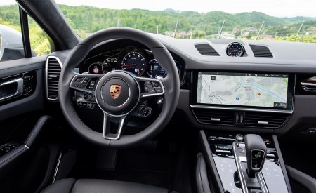 2020 Porsche Cayenne Coupé (Color: Carrara White Metallic) Interior Cockpit Wallpapers 450x275 (168)