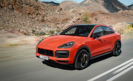 2020 Porsche Cayenne Coupe Front Three-Quarter Wallpapers 450x275 (173)