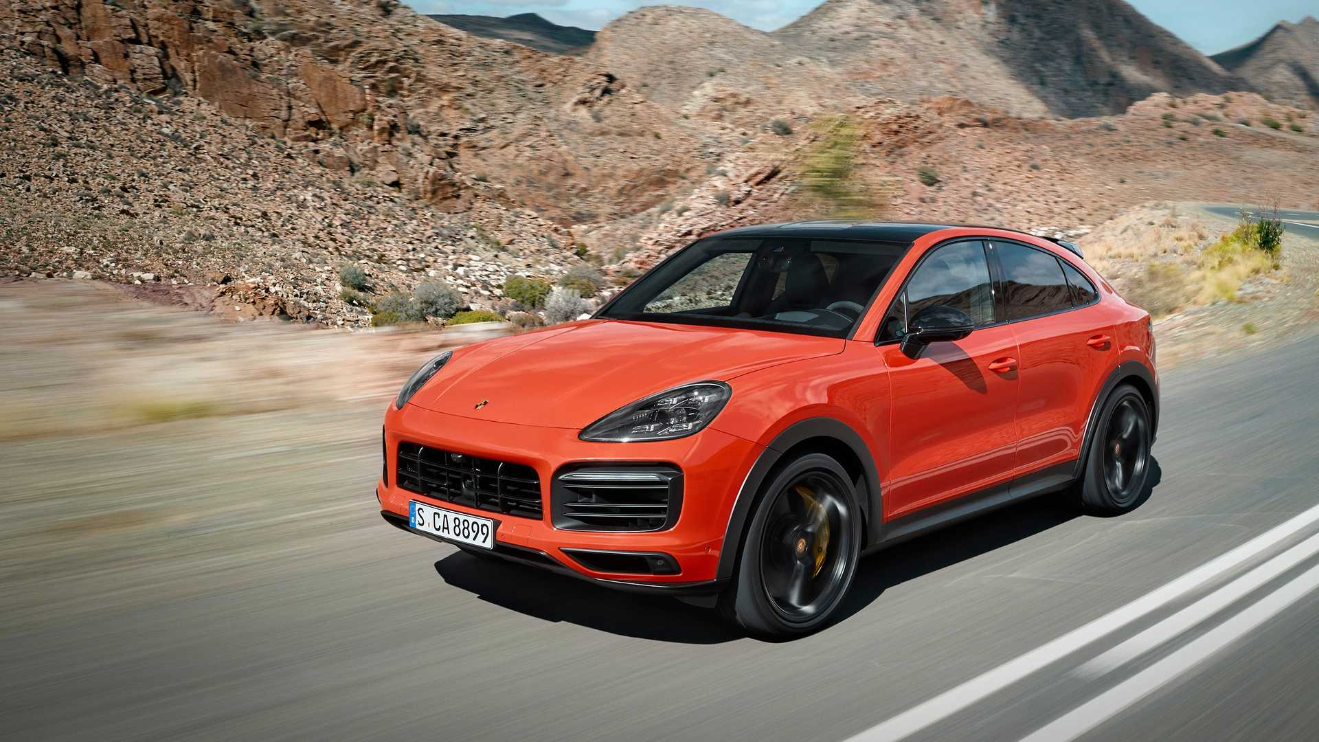2020 Porsche Cayenne Coupe Front Three-Quarter Wallpaper (1)