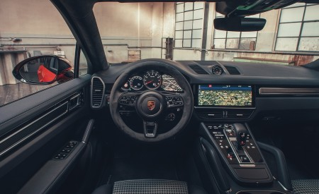 2020 Porsche Cayenne Coupe Interior Cockpit Wallpapers 450x275 (211)