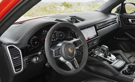 2020 Porsche Cayenne Coupe Interior Wallpapers 450x275 (191)