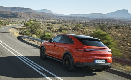 2020 Porsche Cayenne Coupe Rear Three-Quarter Wallpapers 450x275 (177)