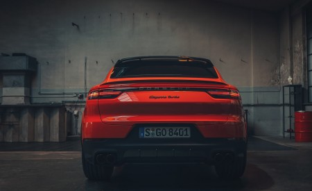 2020 Porsche Cayenne Coupe Rear Wallpapers 450x275 (195)