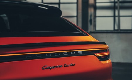 2020 Porsche Cayenne Coupe Tail Light Wallpapers 450x275 (202)