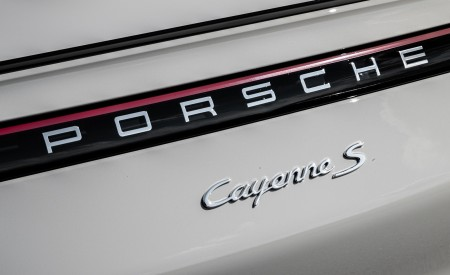 2020 Porsche Cayenne S Coupé (Color: Crayon) Detail Wallpapers 450x275 (61)