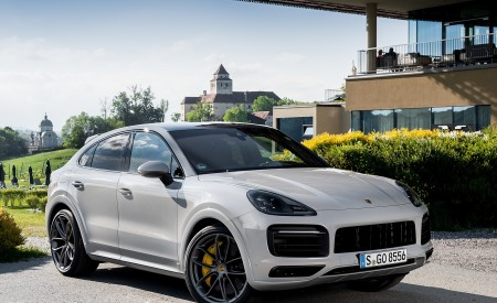 2020 Porsche Cayenne S Coupé (Color: Crayon) Front Three-Quarter Wallpapers 450x275 (49)