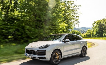 2020 Porsche Cayenne S Coupé (Color: Crayon) Front Three-Quarter Wallpapers 450x275 (35)