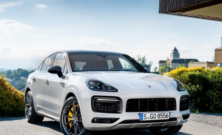 2020 Porsche Cayenne S Coupé (Color: Crayon) Front Three-Quarter Wallpapers 450x275 (48)