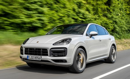 2020 Porsche Cayenne S Coupé (Color: Crayon) Front Three-Quarter Wallpapers 450x275 (38)