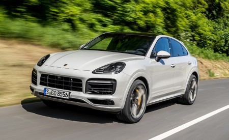 2020 Porsche Cayenne S Coupé (Color: Crayon) Front Three-Quarter Wallpapers 450x275 (39)