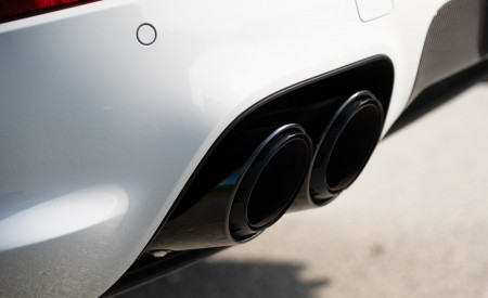 2020 Porsche Cayenne S Coupé (Color: Crayon) Tailpipe Wallpapers 450x275 (52)