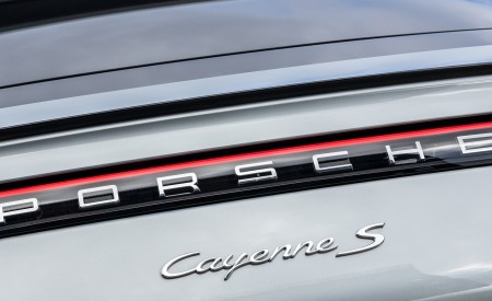 2020 Porsche Cayenne S Coupé (Color: Dolomite Silver Metallic) Detail Wallpapers 450x275 (115)