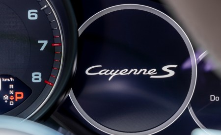 2020 Porsche Cayenne S Coupé (Color: Dolomite Silver Metallic) Digital Instrument Cluster Wallpapers 450x275 (128)