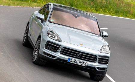 2020 Porsche Cayenne S Coupé (Color: Dolomite Silver Metallic) Front Wallpapers 450x275 (93)