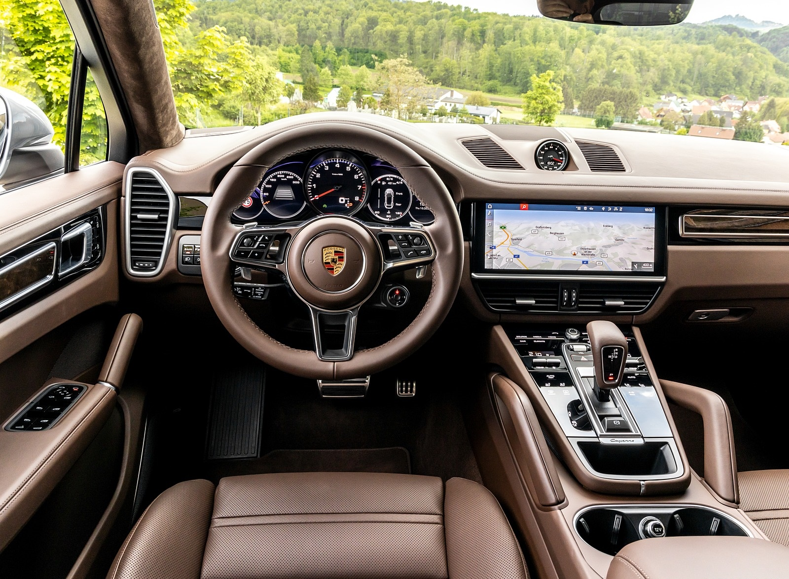 2020 Porsche Cayenne S Coupe Color Dolomite Silver Metallic Interior Cockpit Wallpapers 126 Newcarcars