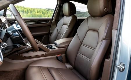 2020 Porsche Cayenne S Coupé (Color: Dolomite Silver Metallic) Interior Front Seats Wallpaper 450x275 (122)
