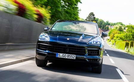 2020 Porsche Cayenne S Coupé (Color: Moonlight Blue Metallic) Front Wallpapers 450x275 (65)
